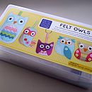 Sew Your Own Owls