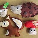 Sew Your Own Woodland Friends