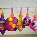 Sew Your Own Christmas Baubles Kit