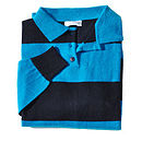 Men's Pure Cashmere Rugby Shirt
