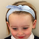 School Uniform Headbands