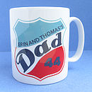 Personalised Dad Ceramic Mug