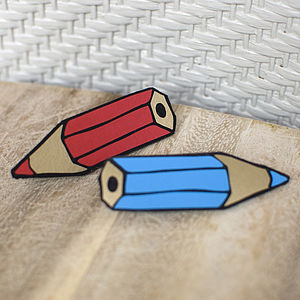 Pencil Pin - stationery day gifts