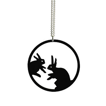 Shadow Jewellery - Pendant - Rabbits