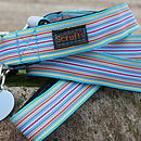 Sidmouth Striped Dog Collar And Lead
