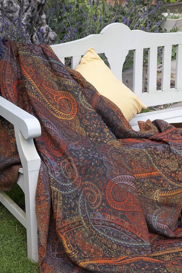 jamawar wool sofa throws by indian garden company  : original4972 from www.notonthehighstreet.com size 600 x 900 jpeg 161kB