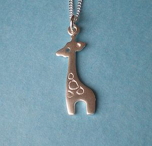 Little Giraffe Pendant Necklace - necklaces & pendants