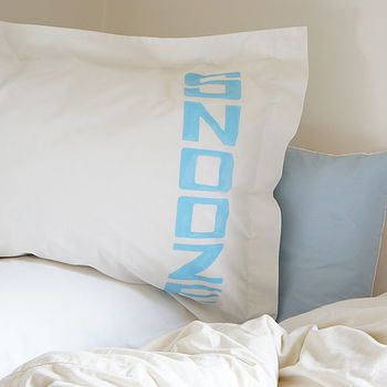 Pair Of Snooze Pillowcases