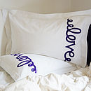 Pair Of Love Pillowcases