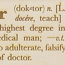 Personalised Profession Definition Engraving