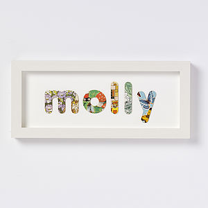 Personalised Vintage Childrens Book Name - pictures, prints & paintings