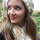 Oatmeal - soft chunky scarf