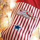 Personalised Santa's Little Helper Stocking