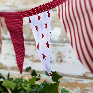 Stars And Stripes Bunting - outdoor decorations