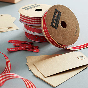 Ribbon And Tag Set - shop by category