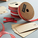 Ribbon And Tag Set