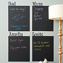 Personalised Chalkboard Wall Sticker