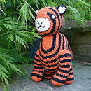 Crochet Tiger Soft Toy
