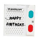 Creative 3D Greeting Card