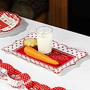 Santa's Christmas Eve Treats Platter