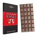 Christmas Message Chocolate Bar