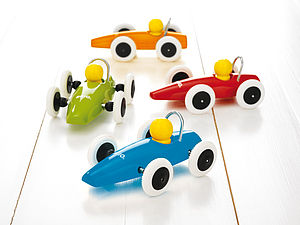 Brio Wooden Race Car - toys & games
