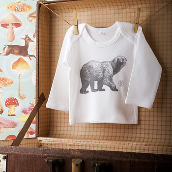 Luxury Organic Polar Bear Shirt