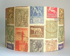 Italian Stamps Lampshade - lampshades