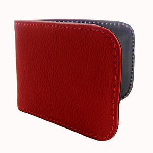 Leather Travel Card Holder - Various Colours - men's accessories
