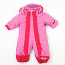 Baby Toddler Snow Suit Cerise/Pink