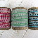 Inca Wave Mix Ribbon In 3M Bundles