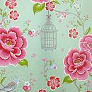 PiP Studio Birds in Paradise green