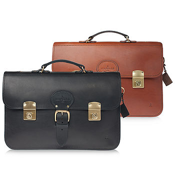 Clifton Leather Briefcase