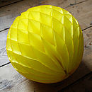 Paper Luxe Honeycomb Tissue Ball