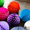 Paper Tissue Ball 30cm Decorations