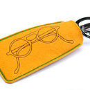 Soft Felt Spectacles Case