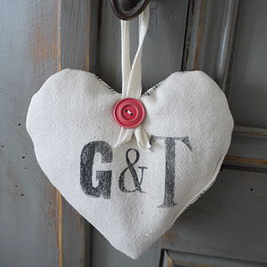 Personalised Lavender Hearts - decorative accessories