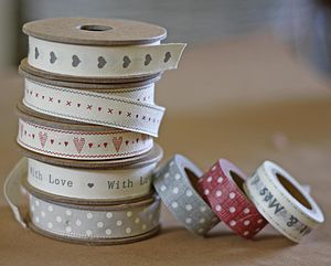 Wedding Ribbon And Tape - diy stationery