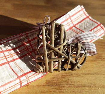 Wicker Napkin Rings