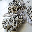 Wicker Tablecloth Weights