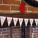 Happy Christmas Bunting - Red/Green - Small