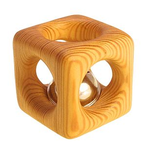 Cube Bell Rattle - traditional toys & games