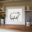 Sheep Screen Print