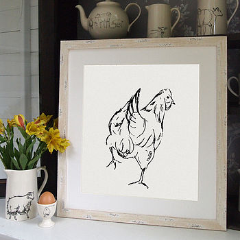 Chicken Screen Prints