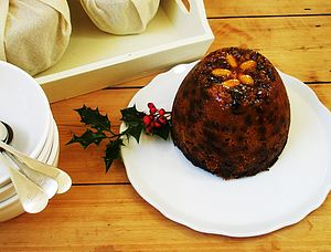 Sugar Plum Fairy Christmas Pudding