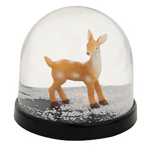 Bambi Snowglobe - christmas home accessories