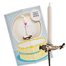 Truly Scrumptious Plane Card For Boys