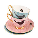 Melody Rose Bird and Nest Teacups