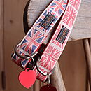 By Jingo Dog Collar And Heart Tag