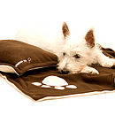Dog Blanket And Pillow Bed Set